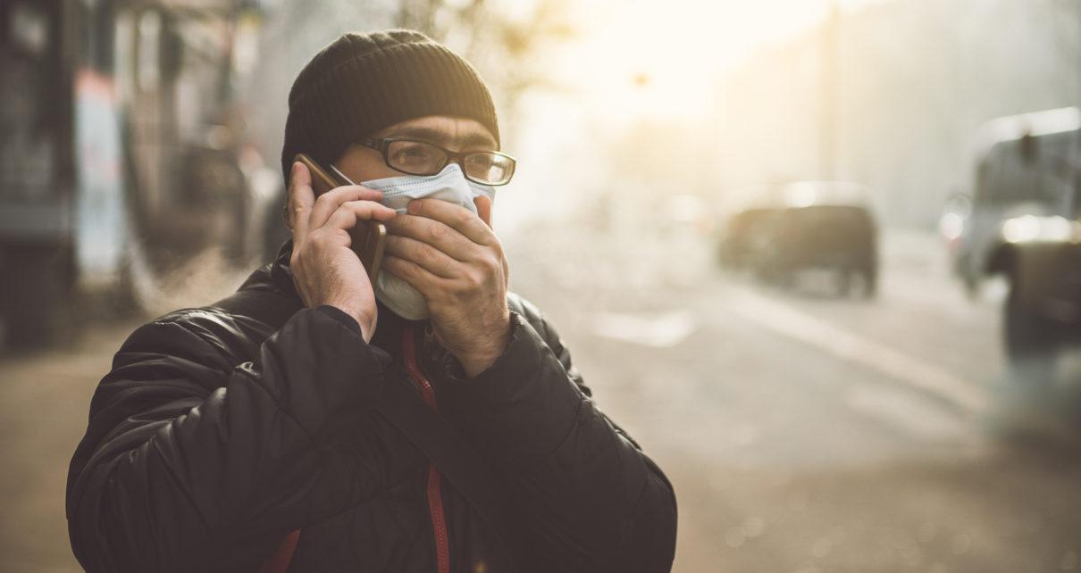 Zanieczyszczone powietrze wpływa na większą liczbę osób w szpitalach