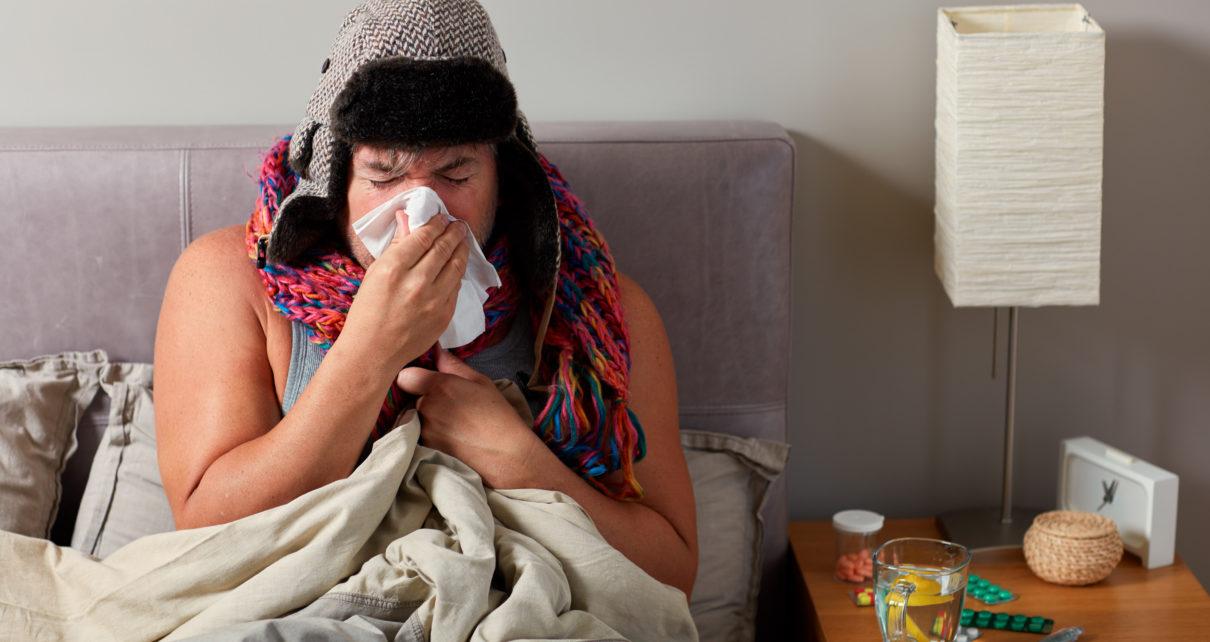 """Badania naukowe potwierdzają """"męską grypę"""""""
