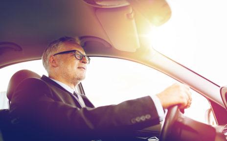 Bezpieczny kierowca z kardiowerterem-defibrylatorem