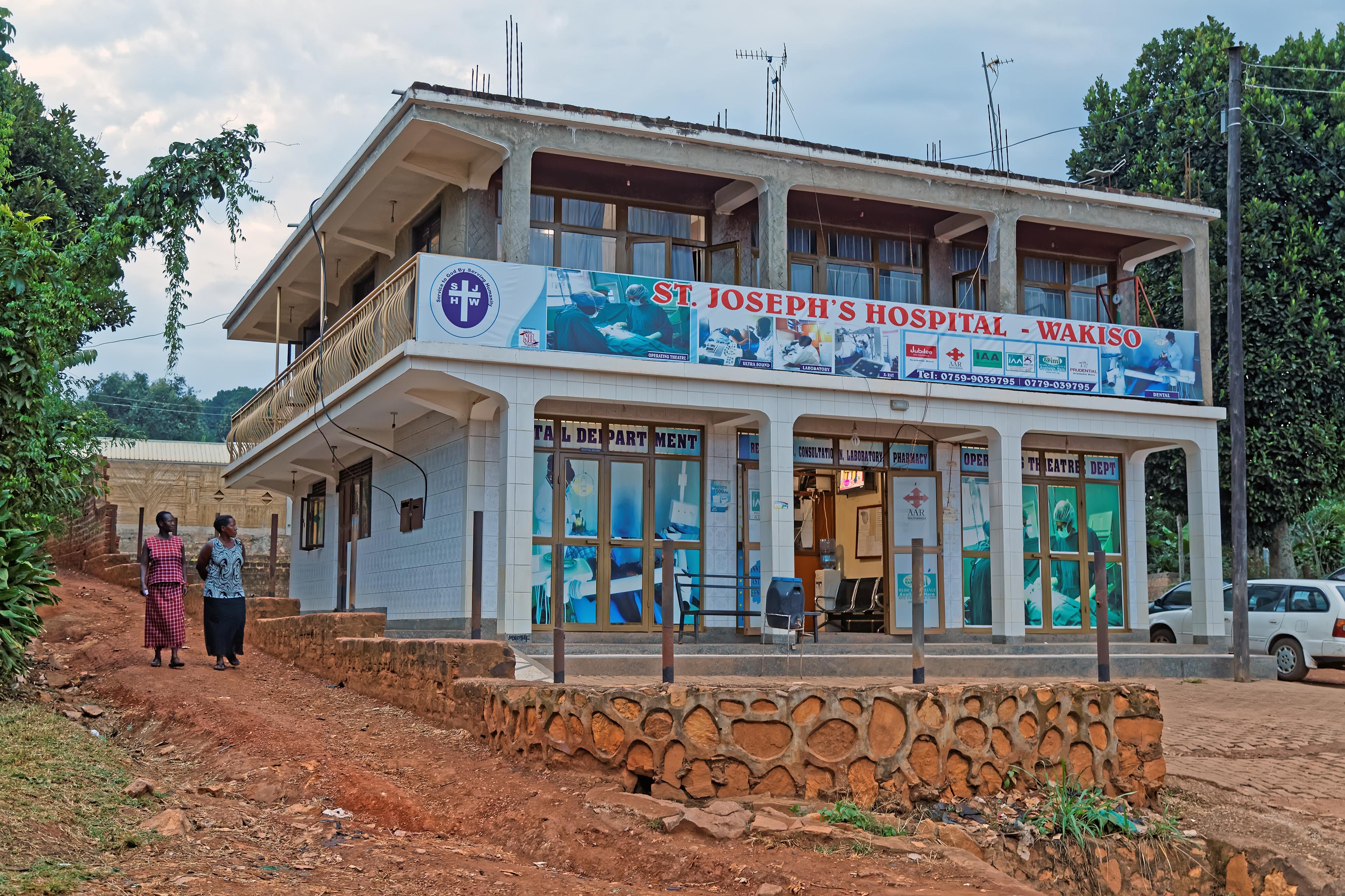 Polska położna na misji w Ugandzie